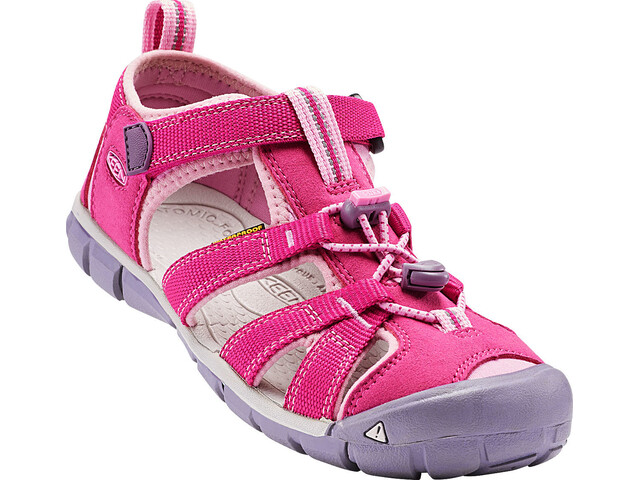 Keen Seacamp II CNX Chaussures Enfant, very berry/lilac chiffon